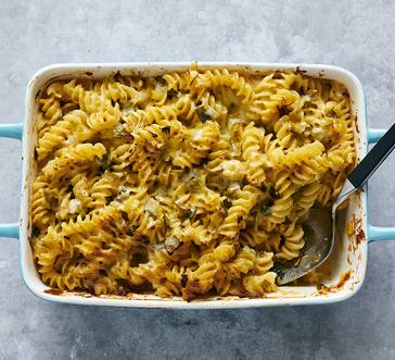 Baked Mac and Cheese with Leeks image