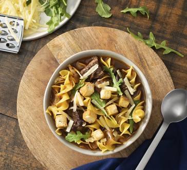 Instant Pot Beef Dip Noodle Soup image