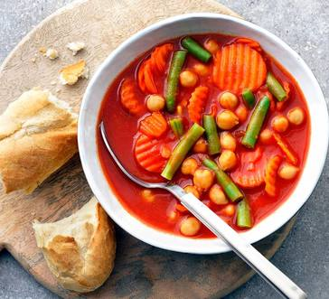 Tomato and Chickpea Soup image
