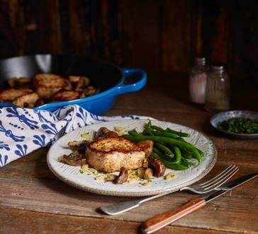 Smithfield® Filet Mignon Pork with Buttery Mushrooms image