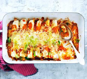 Red Chicken Enchiladas image