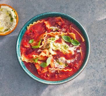 Lasagna Soup image