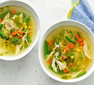 Quick Chicken Noodle Soup image