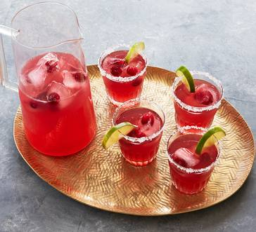 Spicy Cranberry Margaritas image