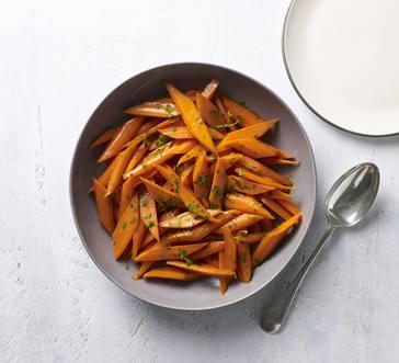 Honey and Bourbon–Glazed Carrots image
