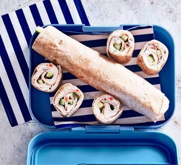 Turkey and Veggie Cream Cheese Roll-ups image