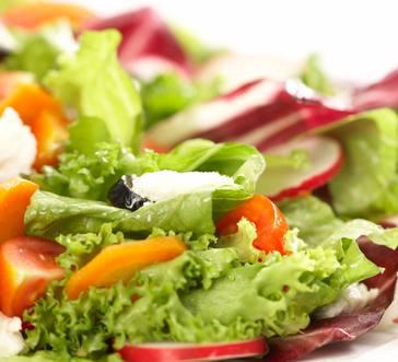 Fresh Greens and Radish Salad image
