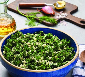 Hellmann's® Quinoa and Kale Salad with Fresh Herbs image