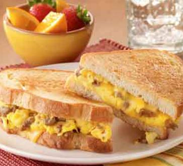 Breakfast for Dinner Grilled Cheese image