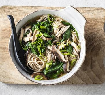 Soba in Shiitake Broth image