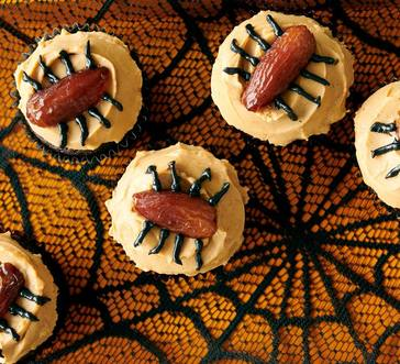 Chocolate–Peanut Butter Spider Cupcakes image