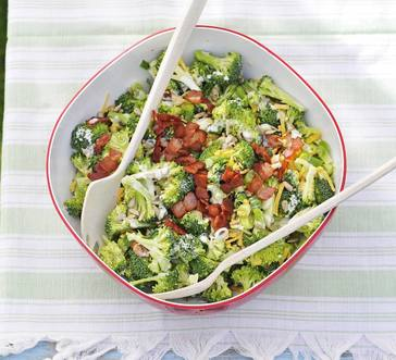 Broccoli Salad with Buttermilk Dressing image