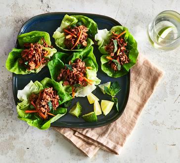 Pork Lettuce Wraps image