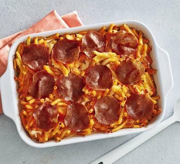 Baked Ziti with Crispy Salami image