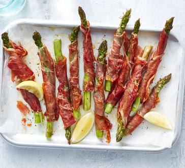 Prosciutto-Wrapped Asparagus image
