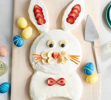 Better-for-You Bunny Cake image