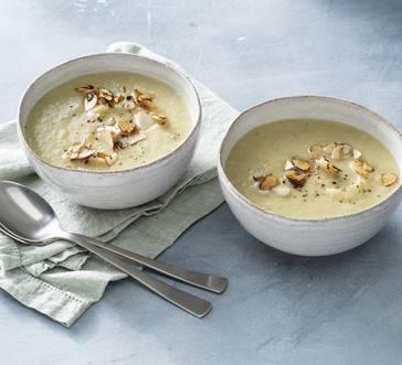 Creamy Kohlrabi Soup image