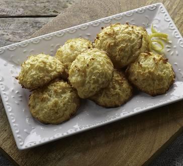 Lemony Coconut Macaroons image