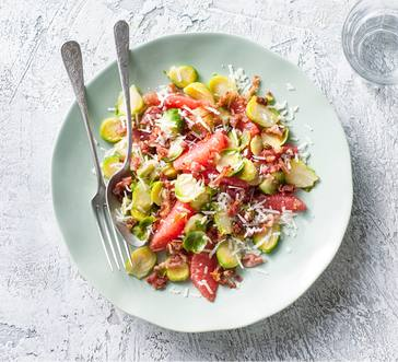 Brussels Sprouts and Grapefruit Salad image