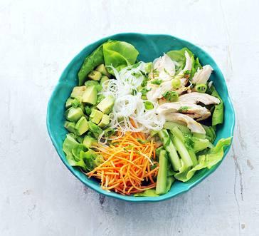 Spring Roll Noodle Bowl image