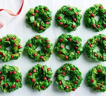 Cornflake Wreaths image