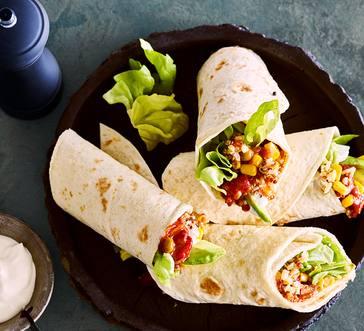 Corn and Quinoa Burritos image