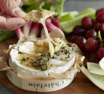 Honey and Thyme Baked Camembert image