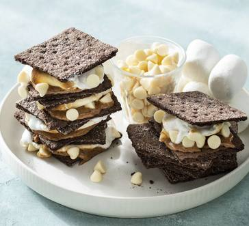 White Chocolate-Almond Butter S'mores image