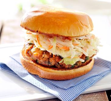 Herbed Salmon Burgers image