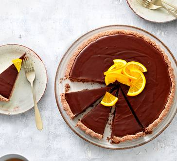 Vegan Chocolate Tart image