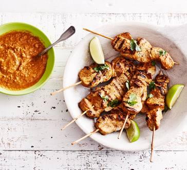 Pork Satay with Peanut Sauce image