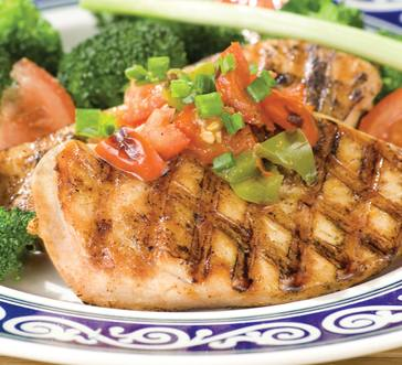 Grilled Chicken with Sauteed Salsa image