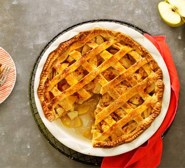 Easy Lattice Apple Pie image
