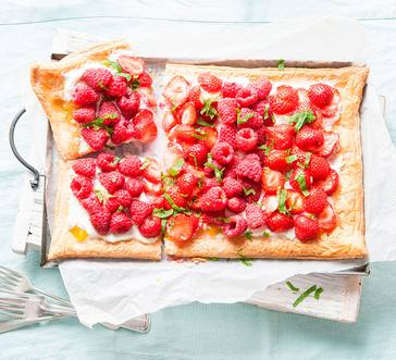 Simple Red Berry Tart image