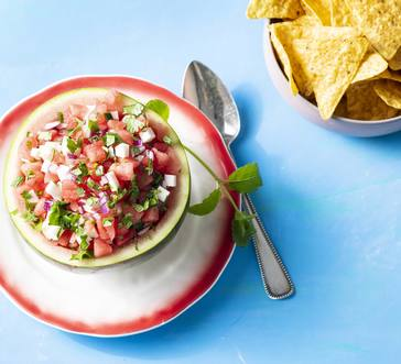 Watermelon and Jicama Salsa image