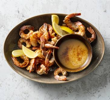 Beer-Poached Shrimp image