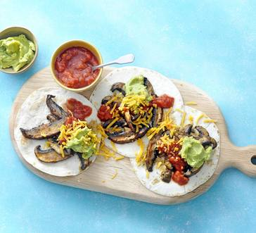 Grilled Portabella Tacos image