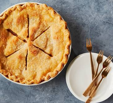 Brown Butter Apple-Pear Pie image