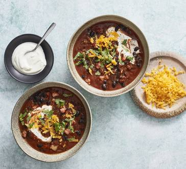 Almost-Vegetarian Chili image