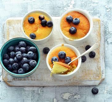 Light Lemon Pudding Cakes image