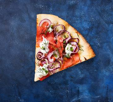 Smoked Salmon Pizza with Dill and Chives image