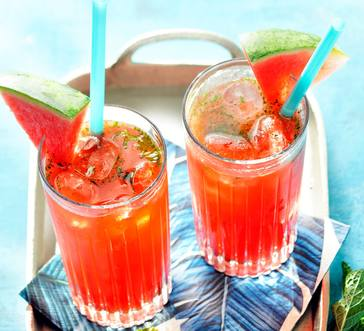 Watermelon-Raspberry Lemonade image
