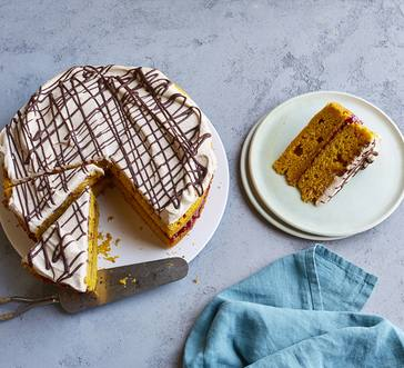 Pumpkin Spice Layer Cake image
