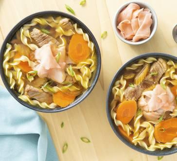 Ginger Beef Noodle Soup image