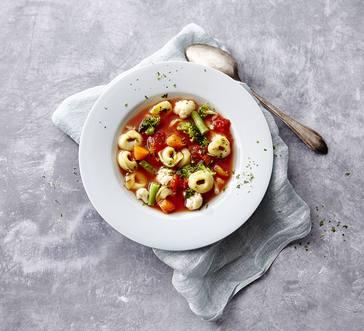 Italian Sausage Tortellini Soup image