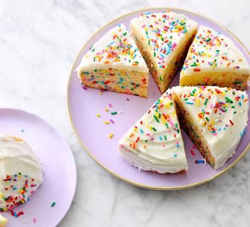 Instant Pot Confetti Cake image