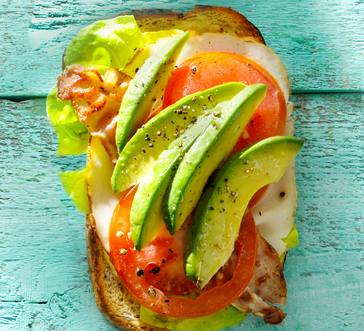 Avocado-Turkey BLT image