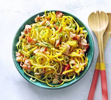 Lobster Scampi with Veggie Noodles image