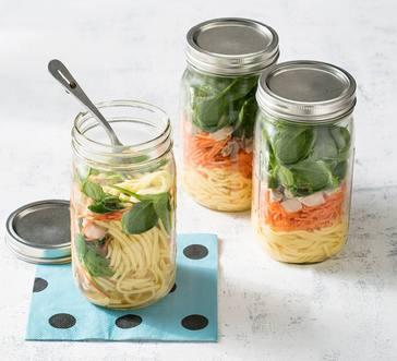 Mason Jar Miso Noodle Soup image