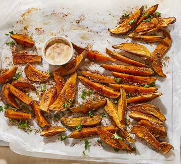 Sweet Potato Fries with Chipotle Aioli image